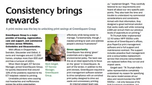 A print review was the key to unlocking print savings at GreenSquare Group