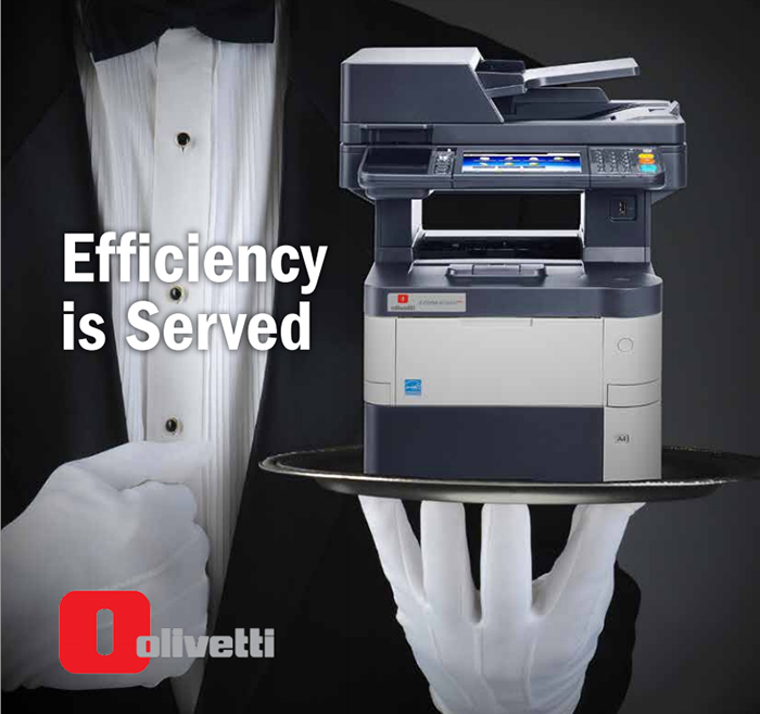 Olivetti serves up efficiency and productivity with new range of mono A4 MFPs