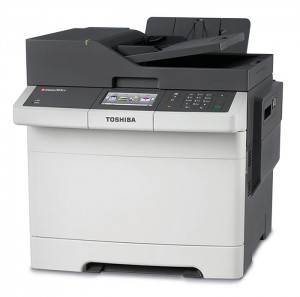 All five models have the same Toshiba e-BRIDGE printer driver as the company's high-end A4 and A3 systems