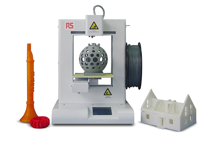 RS also sells 3D printers from 3D Systems
