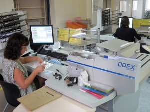 OPEX mailing equipment is speeding up the processing of French social security contributions
