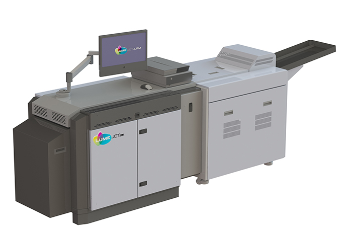 LumeJet, the high quality print technology developer, and photobook printing and fiishing manufacturer Imaging Solutions AG (ISAG) claim to have cut layflt book production costs by up to 50%