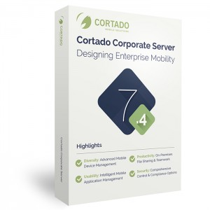 The new version of Cortado Mobile Solutions' enterprise mobility solution, Cortado Corporate Server 7.4, combines iOS 8 business capabilities with a Windows server back-end for easier and more secure enterprise mobility.