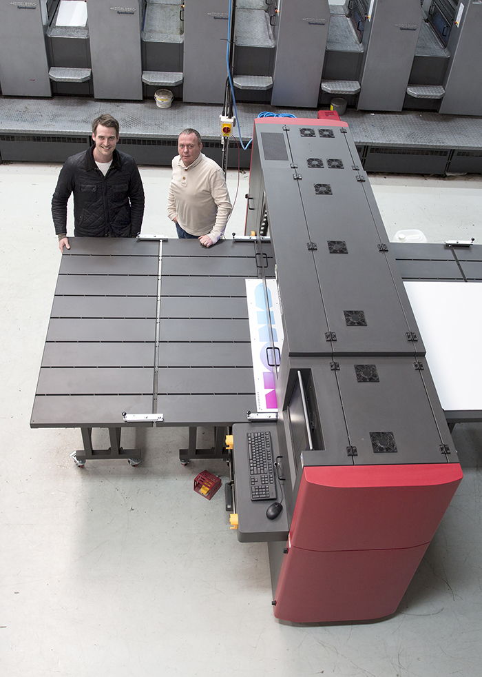 When offset printing business Crescent Press acquired the company to which it used to outsource wide-format printing jobs, such as display boards and interior and exterior banners, one of its first actions was to invest in new machinery.