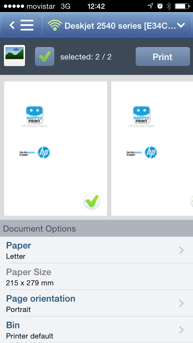 International Paper, manufacturer of the HP Everyday Papers range, has brought out a free mobile printing app to simplify printing from any Android/iOS smartphone or tablet to any wireless printer.
