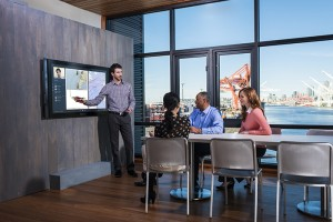 Microsoft is promising more productive meetings and easier collaboration with the Microsoft Surface Hub.