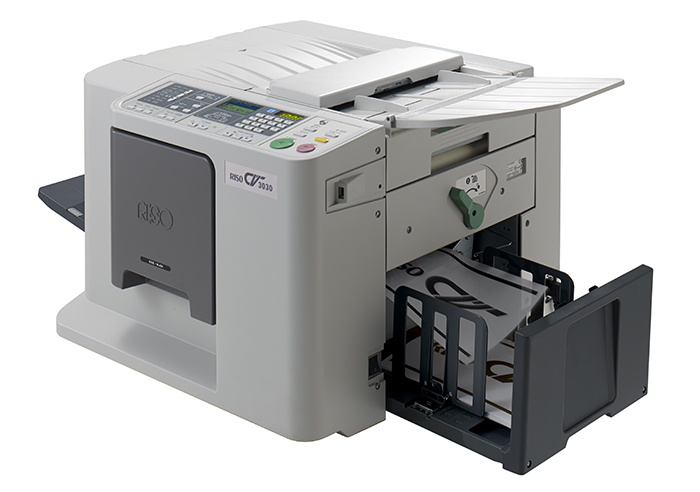 RISO has expanded its range of digital duplicators with a compact A4 model offering print speeds of up to 130 pages per minute
