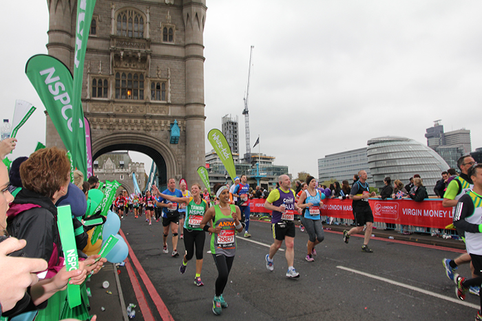 DCI/Jet Tec general manager Tammy Studholme recently took part in the Virgin Money London Marathon
