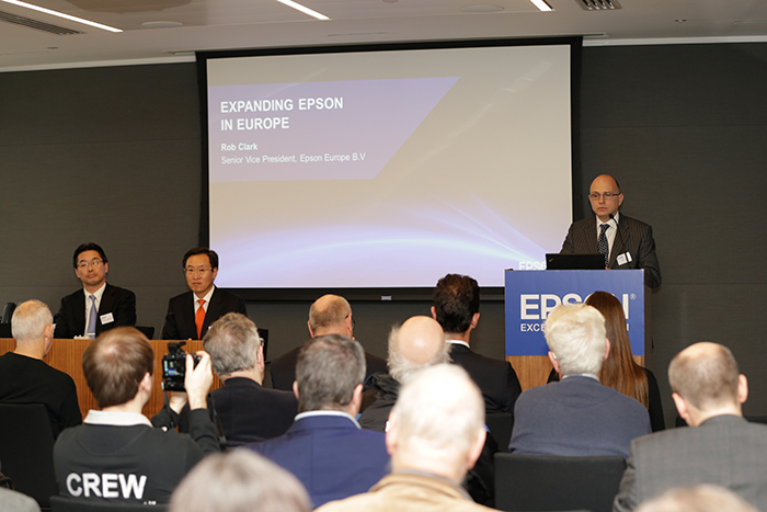 Rob Clark, newly appointed managing director of Epson Europe, says that its activities in these sectors will be supported by continued innovation in new technologies