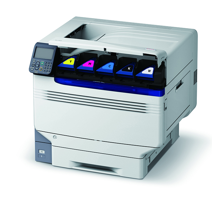 Versatile media handling has long been a selling point of OKI LED printers, and the company's new Pro9000 Series of Graphics Arts printers stays true to this tradition