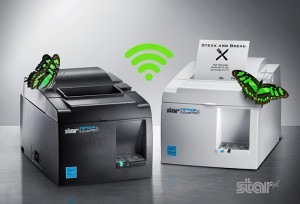 Offering wireless communication for traditional and mobile POS, the TSP143III WLAN is compatible with all major operating systems, including Android, iOS, Linux, Mac OS and Windows.