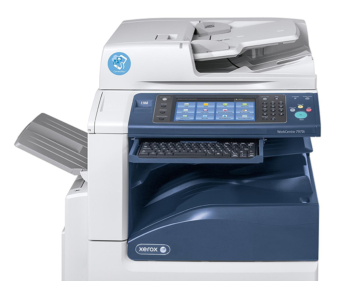 Ready-to-use apps accessible from the i-Series MFP interface include the @PrintByXerox App, a free mobile cloud printing solution that enables employees and visitors to print securely from any mobile or networkconnected device via a single email address