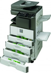 Sharp Europe has added a new A3 MFP to its MX range of mono devices for small businesses and workgroups.