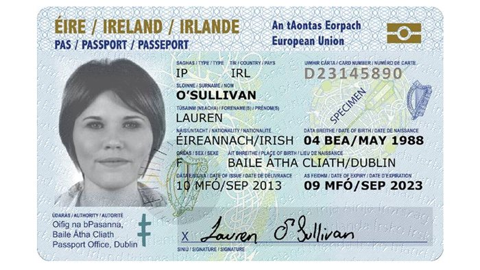 Designed and developed by DLRS Group and consortium partners HID Global, Absolute Graphics and Purple Pod, the card can be used by Irish passport holders instead of a traditional passport when travelling in Europe