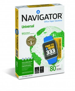 For a chance to win one of these must have gadgets, consumers just need to buy a ream of Navigator paper