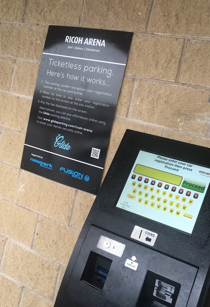 The 40-acre site will have seven walk-up pay terminals with large 17in touchscreens.