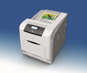 For businesses that require high speed colour output, Ricoh recently introduced the Ricoh SP C440DN