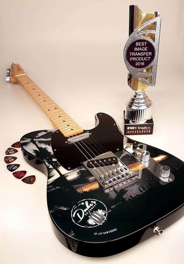 A Fender Telecaster guitar