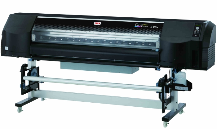Oki's ColorPainter wide format printer