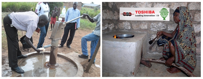 A project in Kenya to replace open fires with highly efficient stoves