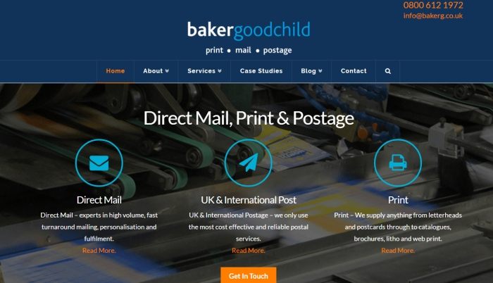 A new corporate identity for bakergoodchild