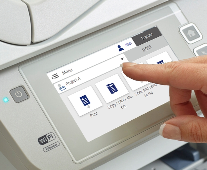 Epson print management software
