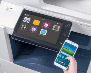 With Xerox ConnectKey technology's flexible design, device interfaces are customizable to provide only the apps used most – including specific one-touch workflows to or from cloud or network locations.