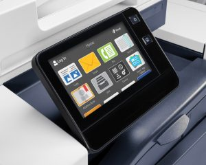 Creating a new user experience across the Xerox ConnectKey portfolio, the products feature a customizable touchscreen interface that operates like a mobile device with swipe and tap capabilities.