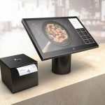 HP ElitePOS all-in-one point-of-sale system