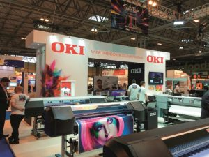 New opportunities with the new generation of large format graphic art printers from Oki Systems