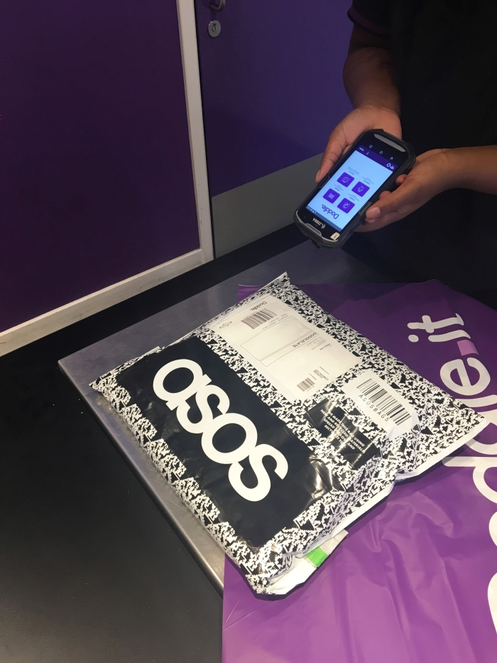 Mobile Technology helping with click and collect