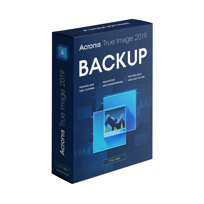 Anniversary edition of backup software