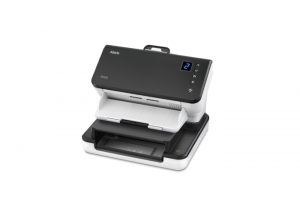 E1025 and E1035 scanner with Passport Flatbed with and without passport shown,