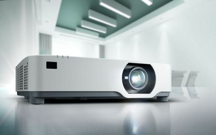 NEC's quietest projector to date