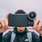 Detachable smartphone lenses
