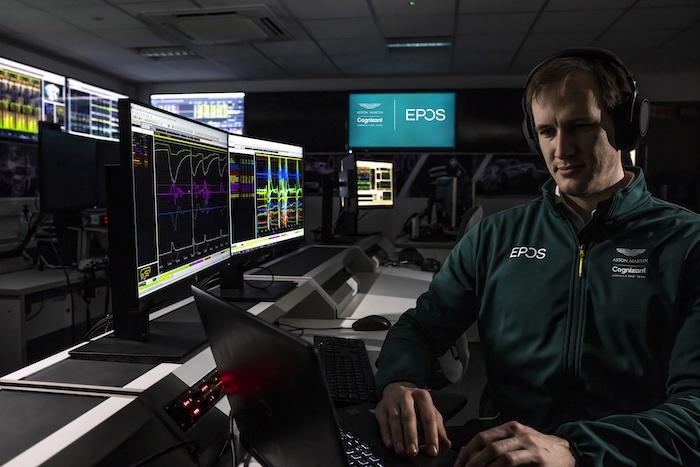 EPOS Aston Martin F1 Global Audio Partner