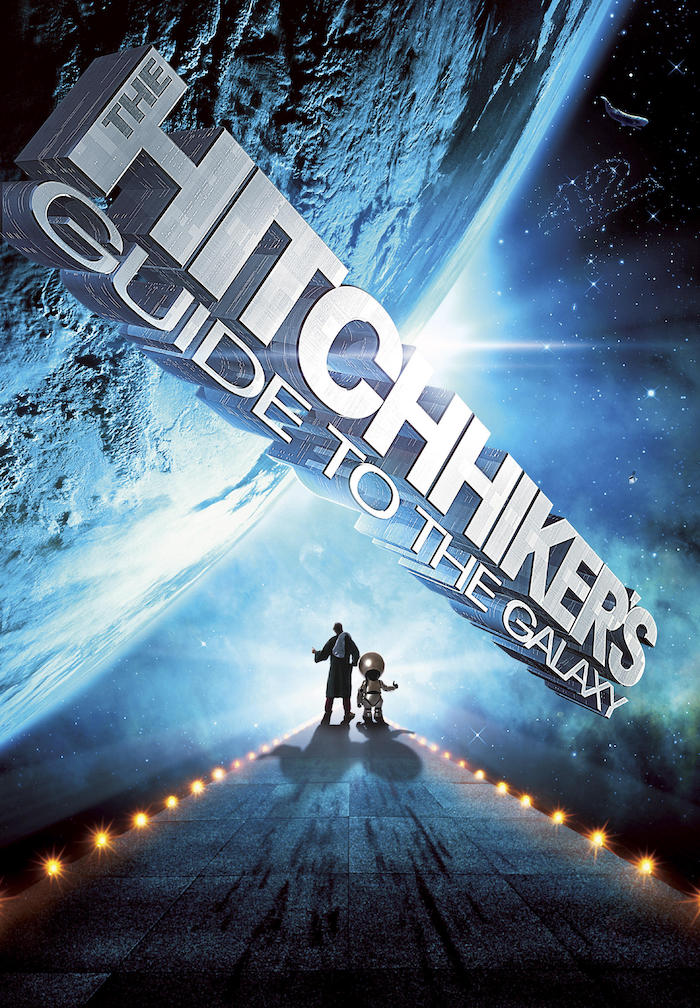 The Hitchhiker's Guide to the Galaxy Poster © 2005 Touchstone Pictures