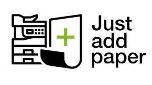 Just add paper